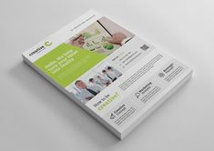 Calgary Modern Professional Business Flyer Template 001401
