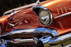 Copper 1957 Chevy Bel Air Photograph by Gordon Dean II - Copper ...
