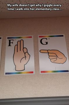Explicit elementary class… oh my gosh I remember these on the wall in kindergarten! Hilarious!