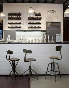Scent Bar - Le Labo inspiration