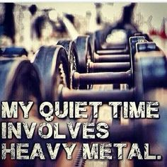 I get my creative flow surging up when I am working out with heavy metal.