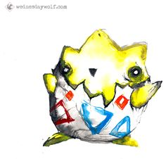 Togepi- Tick tock, goes the egg. What happens after that, a mystery.