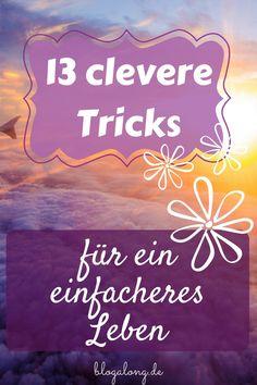 Clevere Tricks für ein einfacheres Leben #tricks #haushalt #leben #tipps #motivation