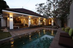 Tropical NATURA Villa in Bali