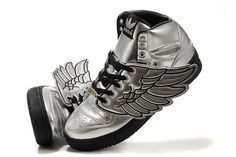 best website c1245 5d62b Jeremy Scott x Adidas wing sneakers -- what yall think   Jeremy Scott  Adidas Shoes
