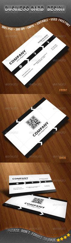corporate business card design - #corporate #design