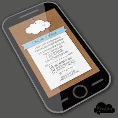 Convite Virtual com visual Artesnal - Nuvem de Amor                                                                                                                                                                                 Mais