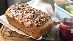 Multi-seeded wheat-free bread