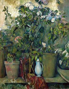 Paul Cézanne - Potted Plants