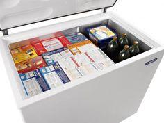 Freezer e Refrigerador Horizontal Dupla Ação - 1 tampa 293 litros - DA302 - Metalfrio com as melhores condições você encontra no Magazine Voceflavio. Confira!