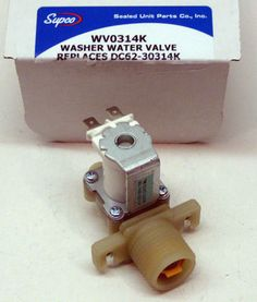 WV0314K for Samsung DC62-30314K Washing Machine Water Valve AP4204535 PS4209100