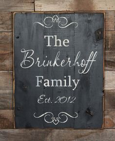 This sign make a perfect wedding gift! Its great for young and old and a great reminder of that special day! Made in shabby chic style with pine