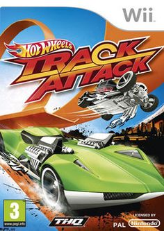 Robert - Hot Wheels Track Attack Wii game