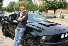 Jeremy Sumpter- I don't know which one I find more attractive in this picture.... omg that car. lol