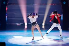 Season 8 winner Melanie Moore and Marko Germar perform a Jazz routine choreographed by Mandy Moore on SO YOU THINK YOU CAN DANCE.