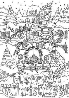 279 Best Christmas Easter Coloring Pages For Adults Images
