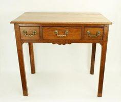 Antique Oak Low Boy, Side Table.