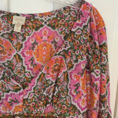 "Anthropologie Tracy Reese plenty beaded boho top12 In Euc. 20"" pit to pit 26"" long. Ethnic look , side zipper , flared arms. Tracy Reese Tops Tunics"
