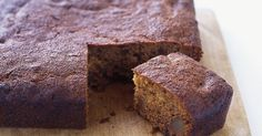 This spicy ginger cake has the sweetness of dates enriching the mix.