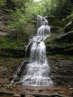 Cathedral Falls in West Virginia