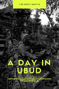 Things to do in Ubud without wasting time or needing a bike, Bali, Indonesia