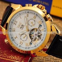 -Usually Ships in 1-2 business days Ships From:(Hong Kong)Warehouse -Worldwide Free Shipping  Shipping & Delivery -Worldwide Free Shipping>>(Hong Kong) Air Mail>>Delivery Time 7-15(business days)  This product is elegant Men's Mechanical Wrist Watch with hour, minute, second, week and date...