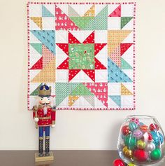 Free Quilt Pattern: Happy Star Mini Quilt