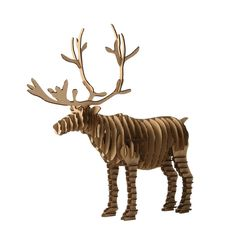 3d Puzzle Deer Christmas Reindeer Decoration Toy Craft Kids and Adults DIY Cardboard Animal Paper Model Art Children Cool Gift-in Puzzles from Toys & Hobbies on Aliexpress.com | Alibaba Group