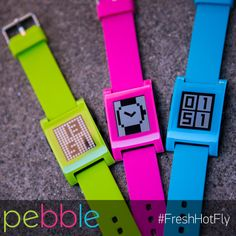 Fresh Green. Hot Pink. Fly Blue. #FreshHotFly Which one are you?