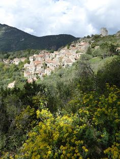 Another day, another walk: Le Roc Traucat. Vieussan to Le Pin on ancient path...