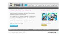 Concept Displays: Web Desigtn, Web Development, E-commrce