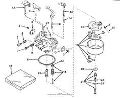 tecumseh carburetor    diagram      Carburetor    diagram    tecumseh  Schematic    diagram      recipes