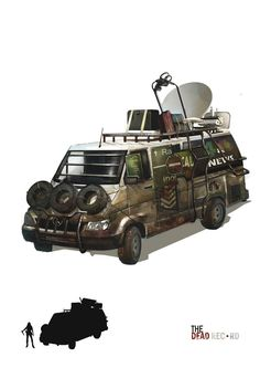 News Van Car by MaxeChong