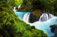 https://flic.kr/p/xR7qm3 | Spirit Falls - Columbia River Gorge