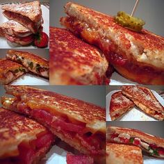 "Six ""Delicious"" Grilled Cheese Sammies"