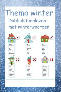 Thema winter - Digibord Onderbouw Letter I, Speech Therapy, Spelling, Writing, Education, Reading, Kids, Penguins, Speech Pathology