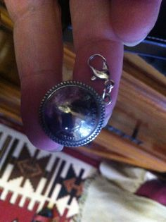 Coin Charm hand made for client on special request