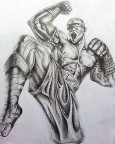 league of legends lee sin drawing by Frankie Meaden pencil on paper http://beautifullyfrank.com/?p=144