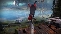Handstanding on everything in The Farm in Destiny 2: Bungie opened up The Farm, Destiny 2's social space taking place of The Tower, for…