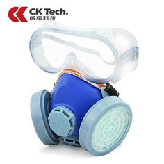 2016 Gas Mask Protection Filter Chemical Gas Respirator Safety Dust Mask Antivirus Paint Spray Pesticide Anti Dust Mask 1012TPR