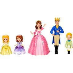Sofia the First and Royal Family Play Set http://www.walmart.com/ip/23268059?wmlspartner=wlpa&adid=22222222227017330222&wl0=&wl1=g&wl2=c&wl3=27858826150&wl4=&wl5=pla&wl6=49557309190&veh=sem