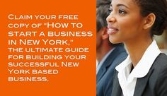 Free ebook showing how to start a business in New York. Guide for #entrepreneurs   http://infin8llc.com