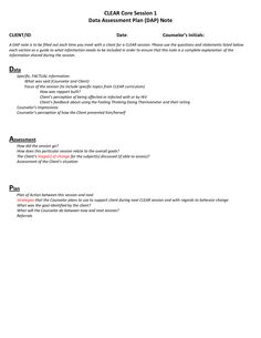 case notes template | CASE NOTE FORMAT - DAP CHARTING | For Me ...