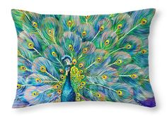 """The Eyes Have It Throw Pillow 20"""" x 14"""""""