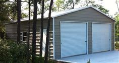 Best 20X21 Vertical Roof Metal Garage Ct Ma De Dc In Md 400 x 300
