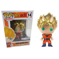 POP! Animation - Dragonball Z - Super Saiyan Goku Metallic