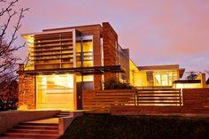 Luxurious Modern House Exterior Design Desktop Backgrounds HD