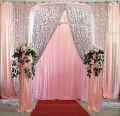 5Yard wholesale 150cm Width thick Sequin Fabric Mesh back Fashion Wedding Decoration Material party decor