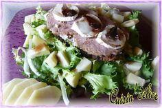 Tartine chèvre andouille en solo, Recette de Tartine chèvre andouille en solo par Claryss - Food Reporter