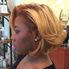 Lovely blonde flips @__lovecheetah - http://community.blackhairinformation.com/hairstyle-gallery/short-haircuts/lovely-blonde-flips-__lovecheetah/